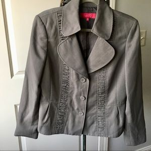 Nine & Co. Gray Suit Blazer